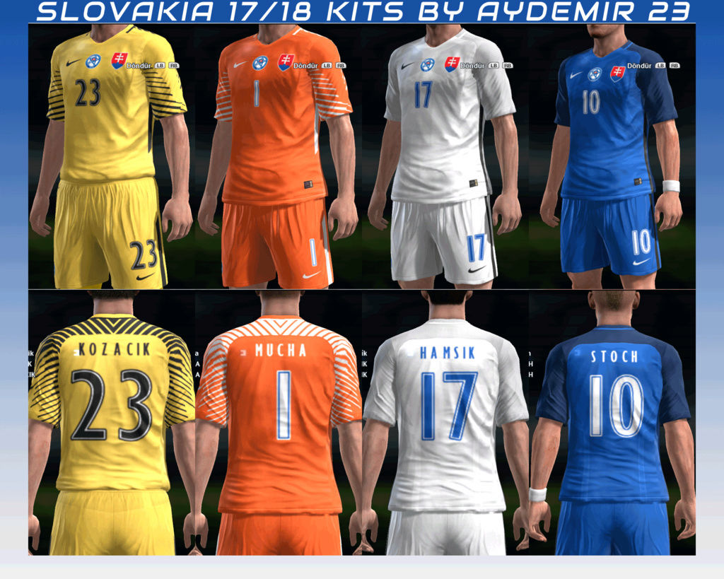 """SLOVAKIA 2017/18"" >>>kits by Aydemir<<< - Page 2 Previe11"