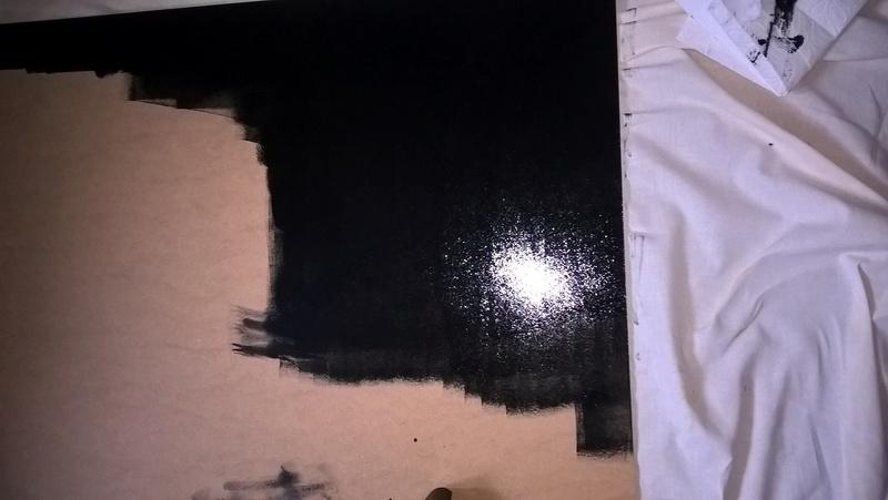 Space mat aus Holz mit Airbrush als Hintergrund! Wp_20122