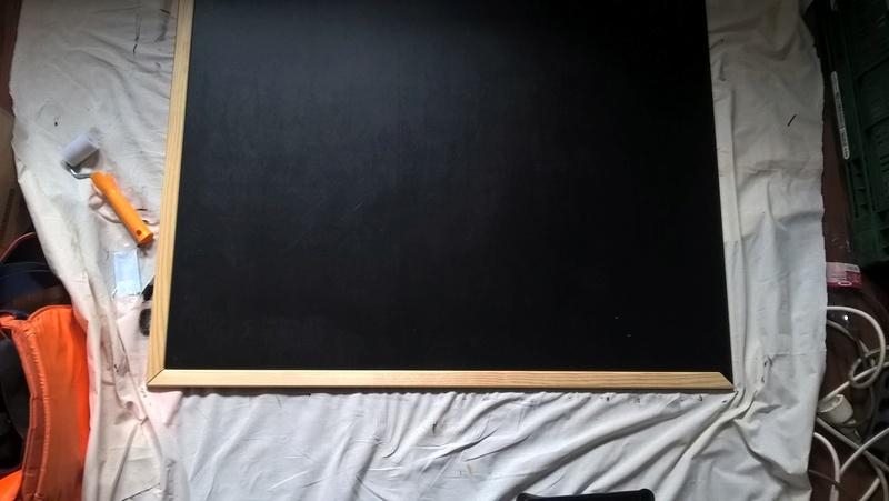 Space mat aus Holz mit Airbrush als Hintergrund! Wp_20123