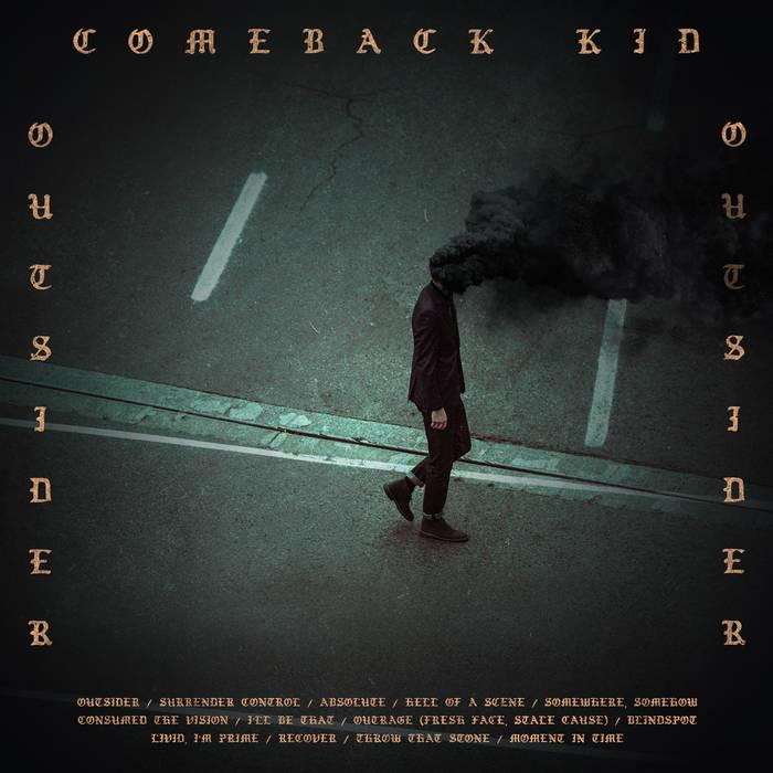 """¡¡¡Castiga tu cuello mientras conduces al ritmo del """"Die Knowing"""" (2014) y """"Outsider"""" (2017) de los Comeback Kid!!! A2480910"""