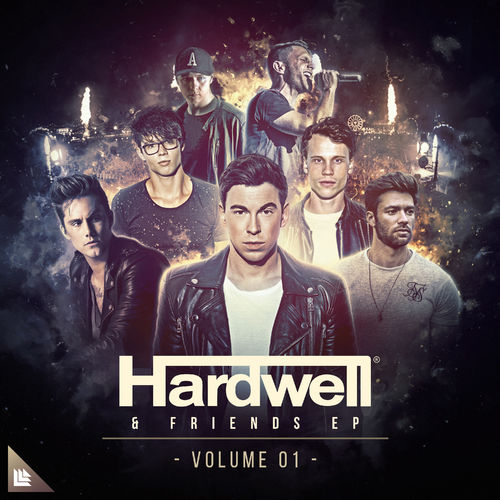Hardwell - Hardwell & Friends Ep Volume 01 (Extended Mixes) 500x5020
