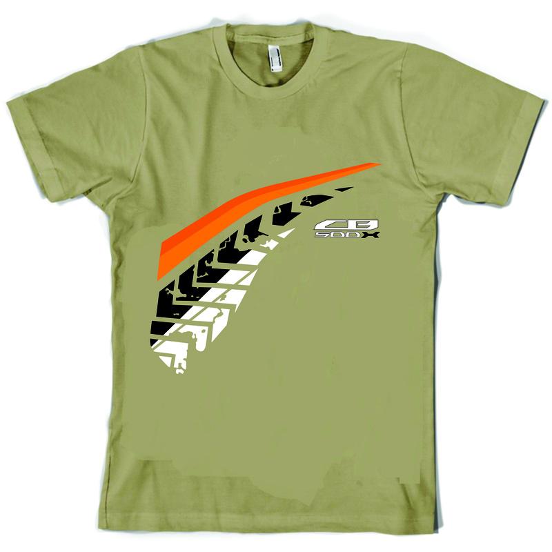 Camiseta estilo CB500X varias opções Camist17