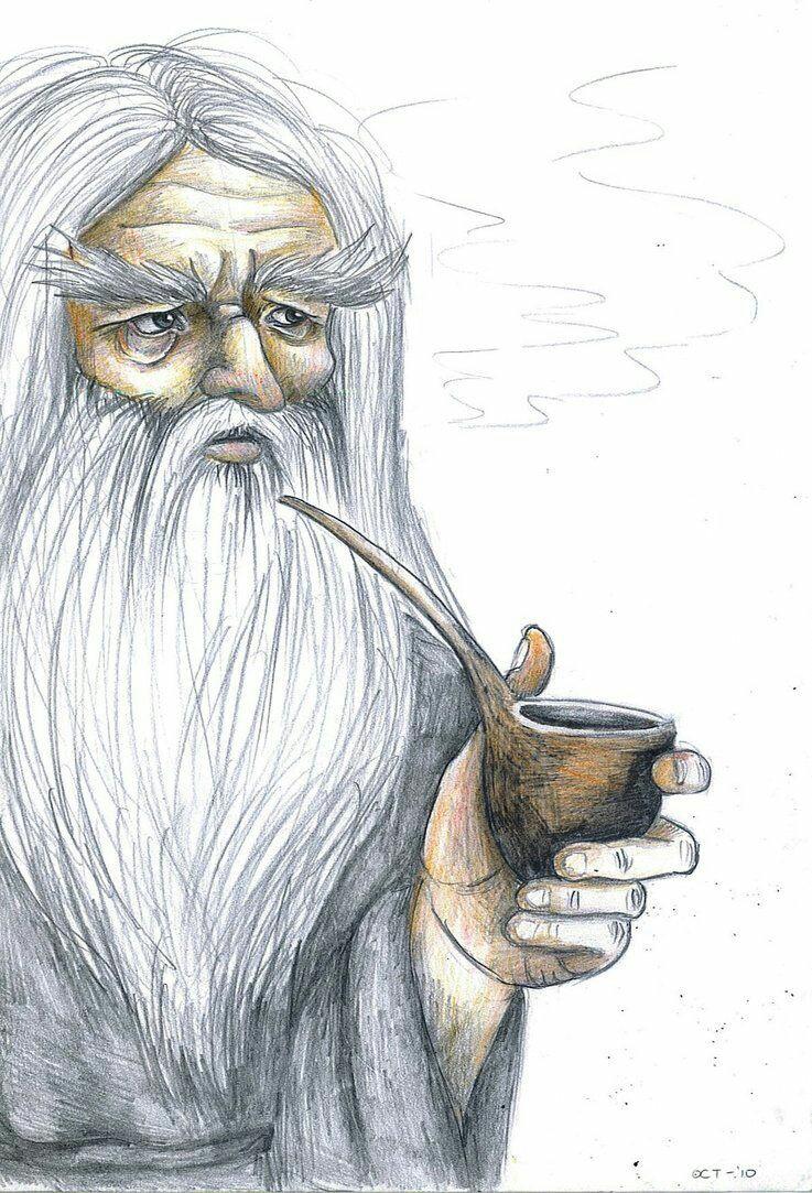 Gandalf et ses pipes 03efd510