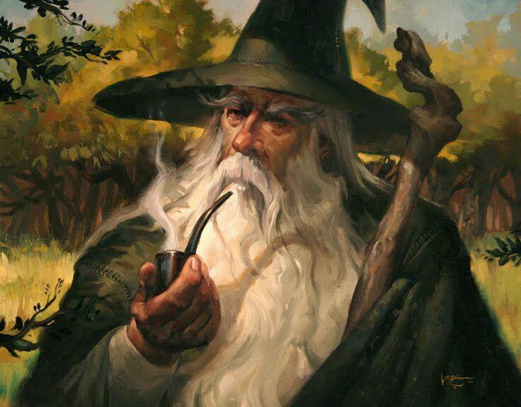 Gandalf et ses pipes 2f07c910