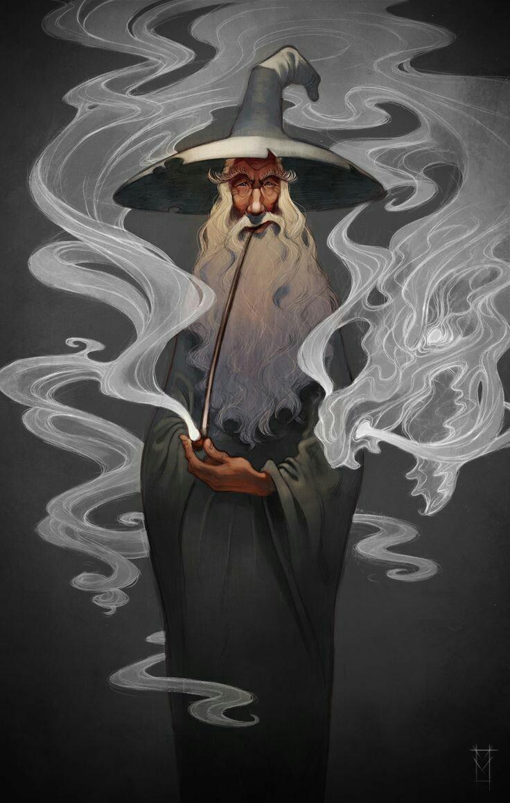 Gandalf et ses pipes 64976610