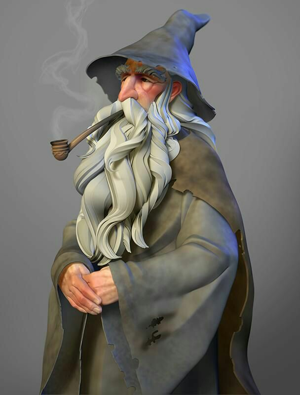 Gandalf et ses pipes Eef82b10