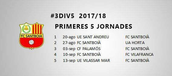 Calendari lliga Img-2010