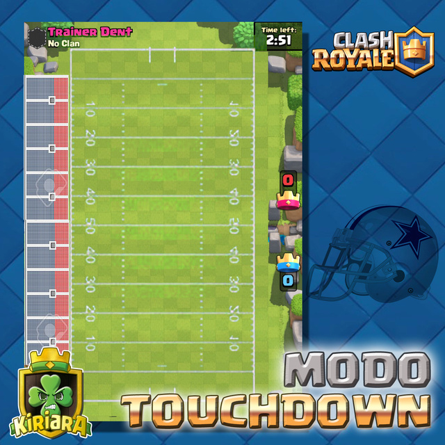 Nuevo Modo TouchDown de Clash Royale Clash_12