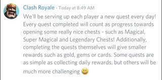 Clash Royale - Todo sobre la actualización de Octubre 2017 Quests11