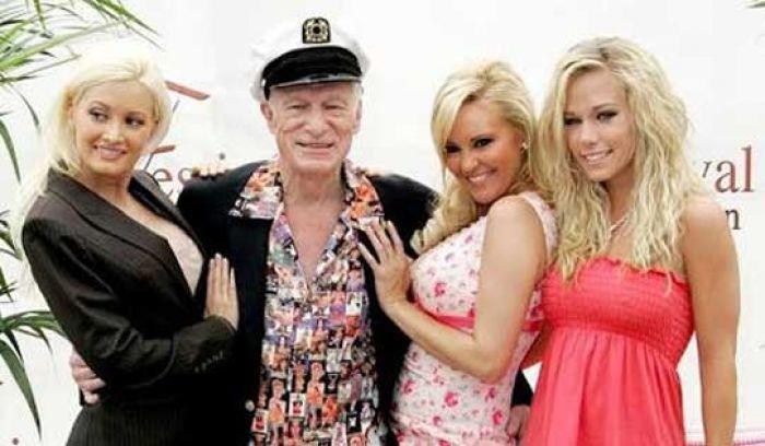 Muere Hugh Hefner, creador de las famosas conejitas de Playboy Hefner10