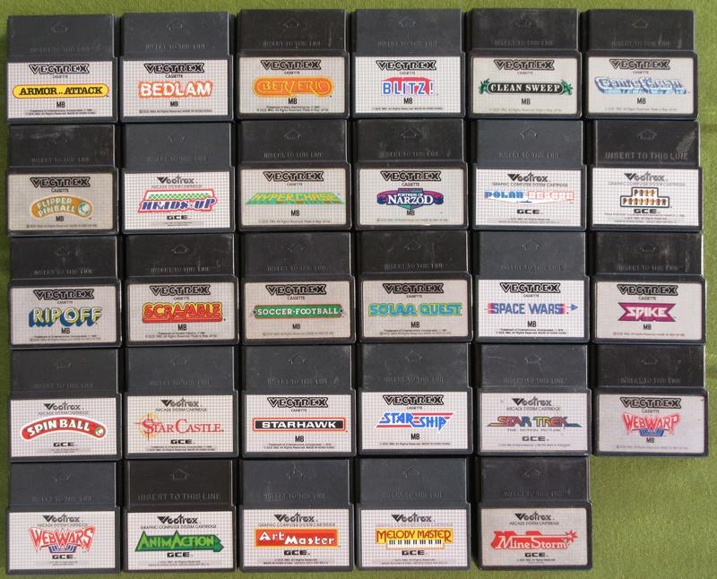 La console VECTREX - MB (Milton Bradley) Img_6810