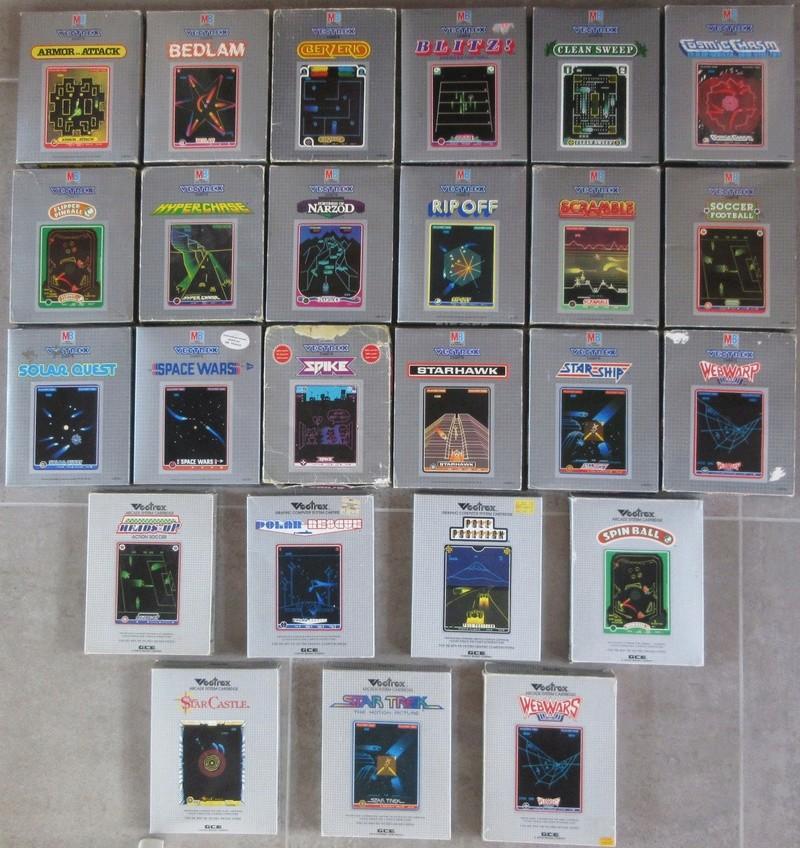 La console VECTREX - MB (Milton Bradley) Img_8210