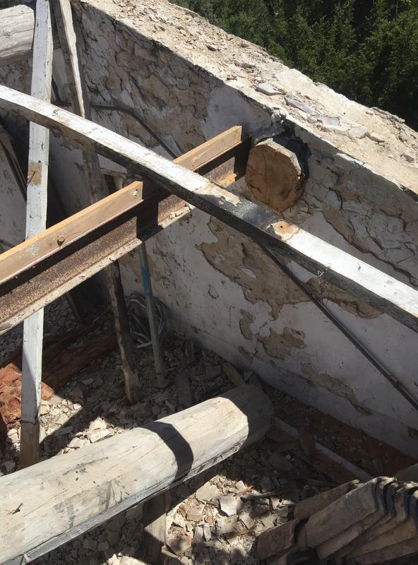 consolidation charpente exitante Panne_11