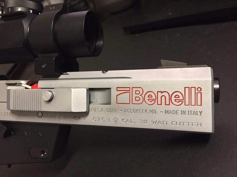 Benelli MP-95 E SOLD! Img_0210