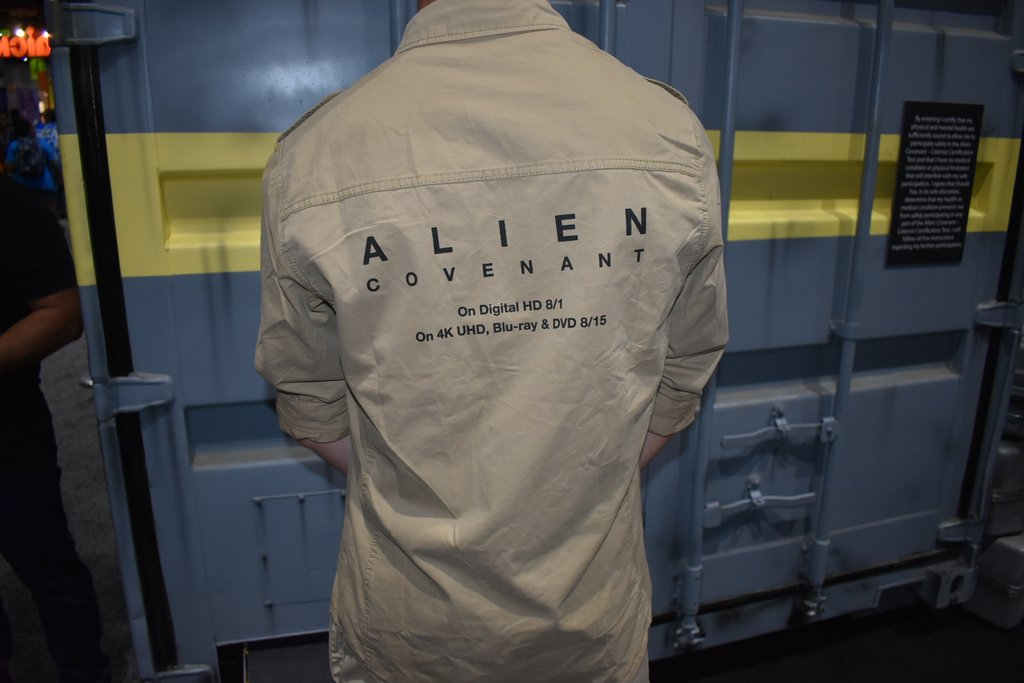 Behind the Scenes for Alien: Covenant Americ10