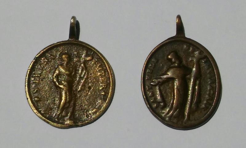 Medallas de Santa Elena, ¿falsas? 20170710