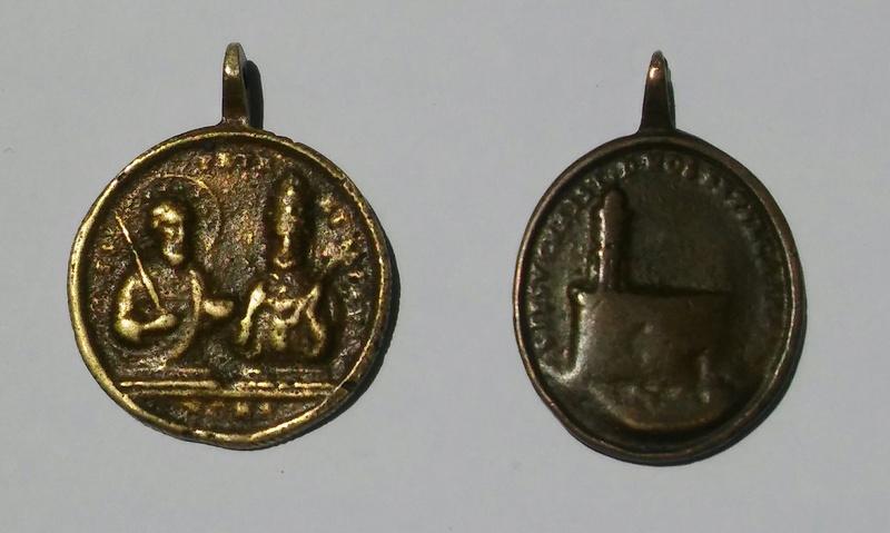 Medallas de Santa Elena, ¿falsas? 20170711