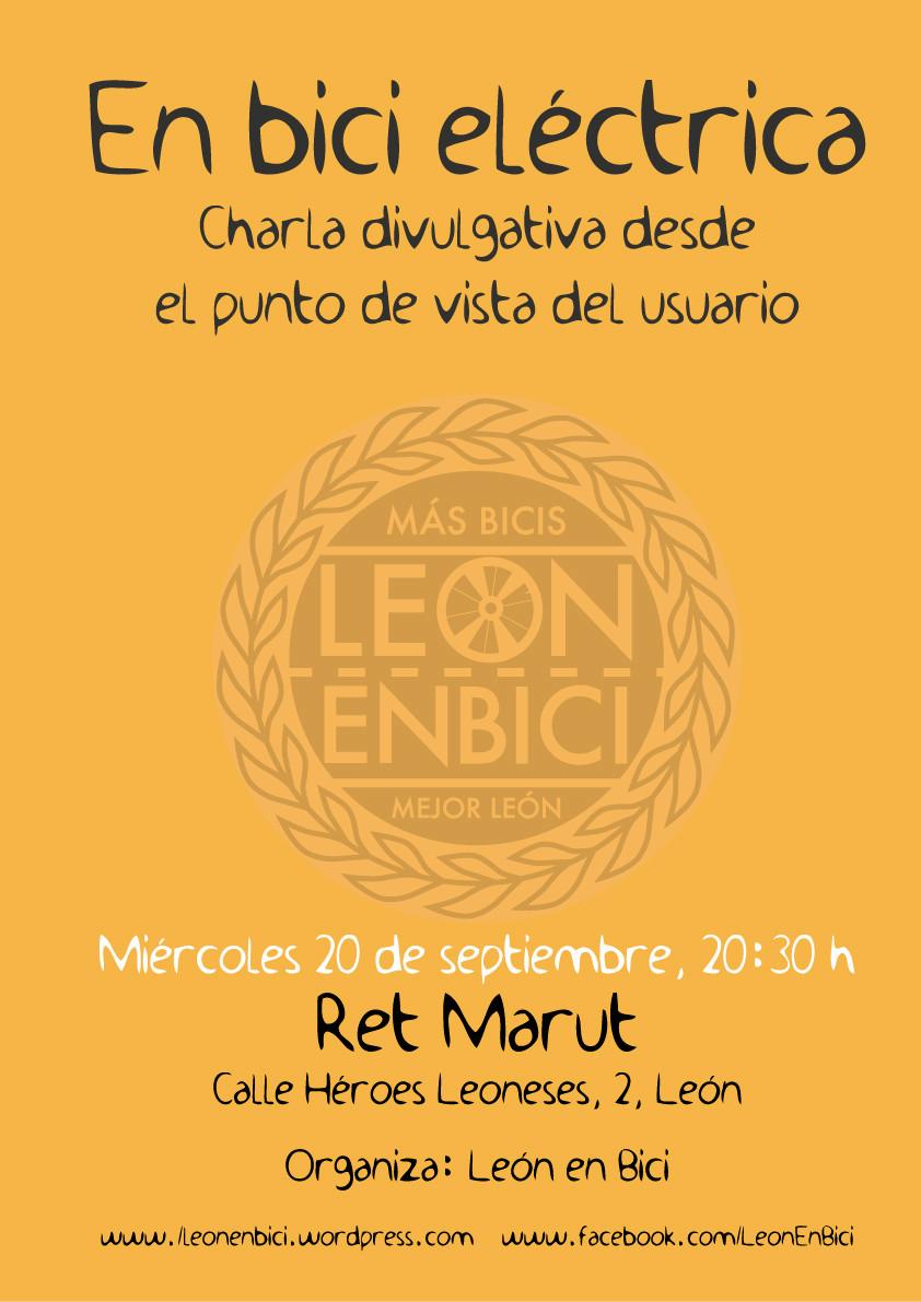 Charla divulgativa sobre Ebike en León Charla10