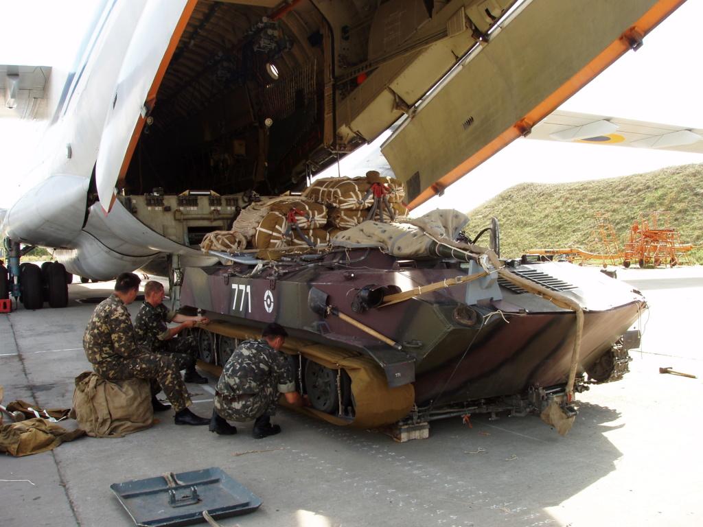 Алюминиевые танки. Техника ВДВ. БМД-1П - Страница 2 771_310