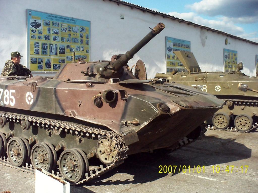 Алюминиевые танки. Техника ВДВ. БМД-1П - Страница 3 78510