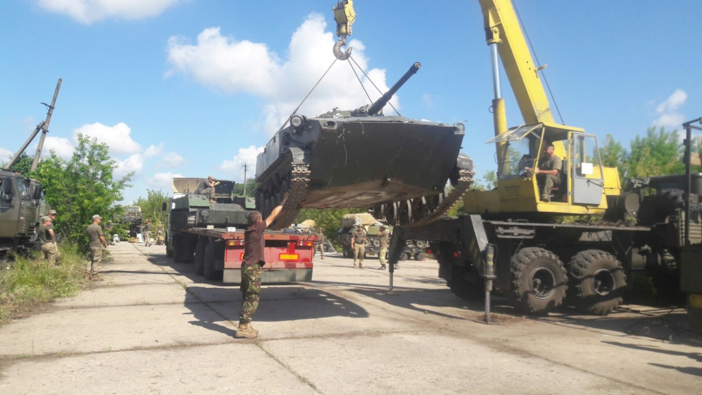 Алюминиевые танки. Техника ВДВ. БМД-1П - Страница 3 841_110