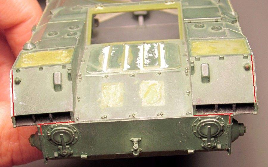 Алюминиевые танки. Техника ВДВ. БМД-1П Img_1615