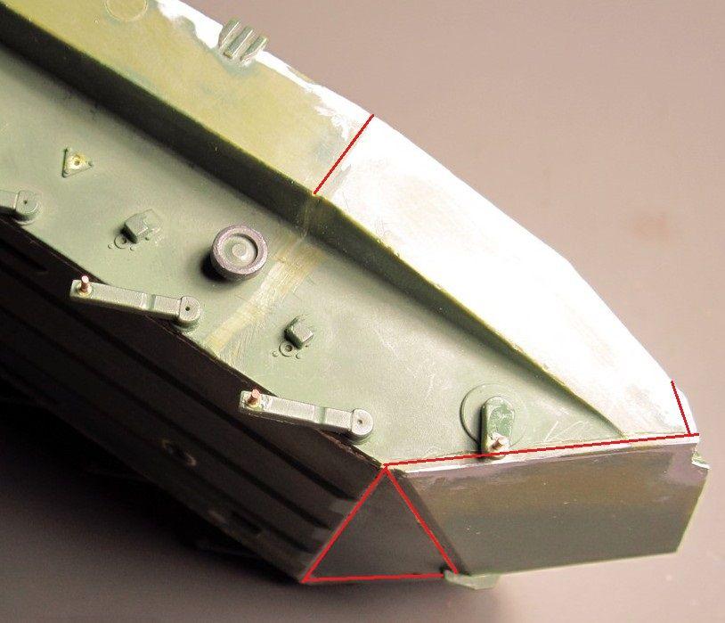 Алюминиевые танки. Техника ВДВ. БМД-1П Img_1617