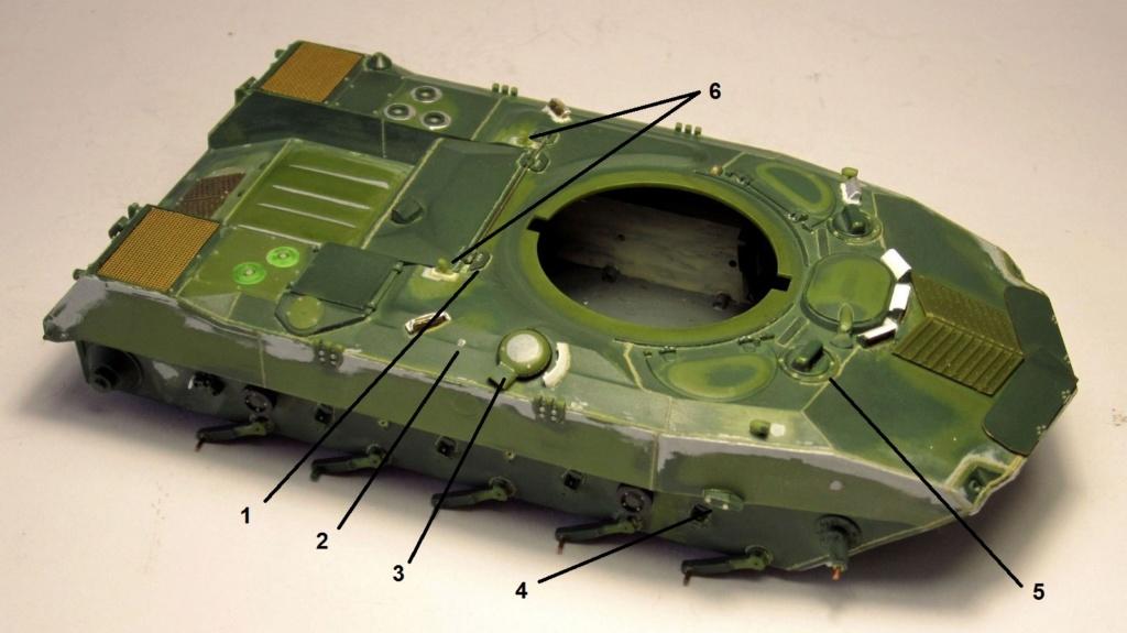 Алюминиевые танки. Техника ВДВ. БМД-1П Img_1726
