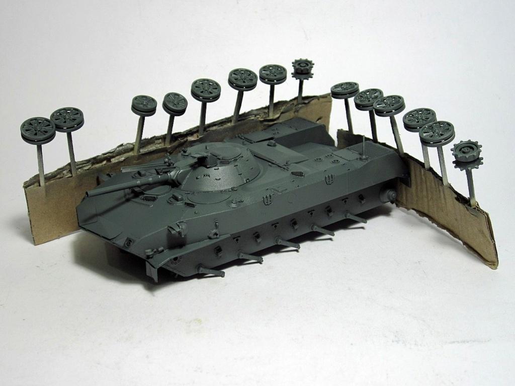 Алюминиевые танки. Техника ВДВ. БМД-1 ранних производственных серий. - Страница 2 Img_4141
