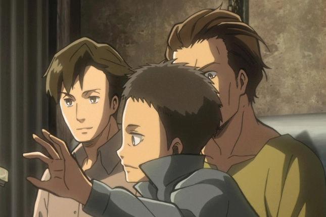"""Shingeki no Kyojin - l'Attaque des titans OAV 4 """" no regrets"""" Fandub Entier  Captur15"""