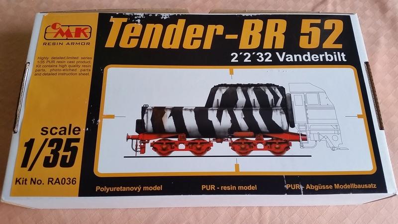 Locomotive BR52 Trumpeter 1/35 20170717