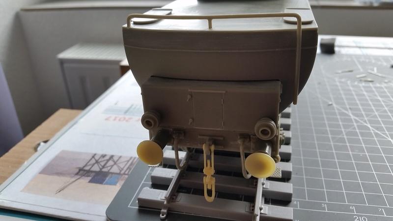 Locomotive BR52 Trumpeter 1/35 20170917