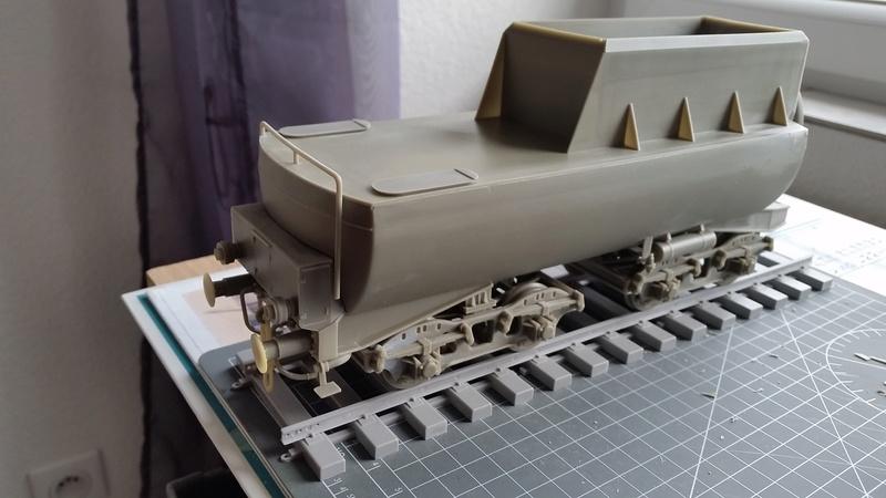 Locomotive BR52 Trumpeter 1/35 20170918