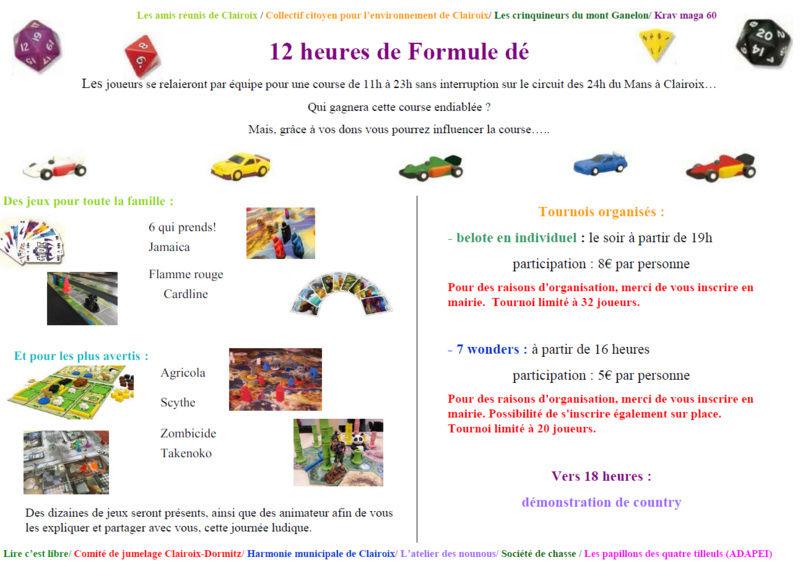 30 septembre Journée jeux de société en faveur du Téléthon à Clairoix 12hglo10
