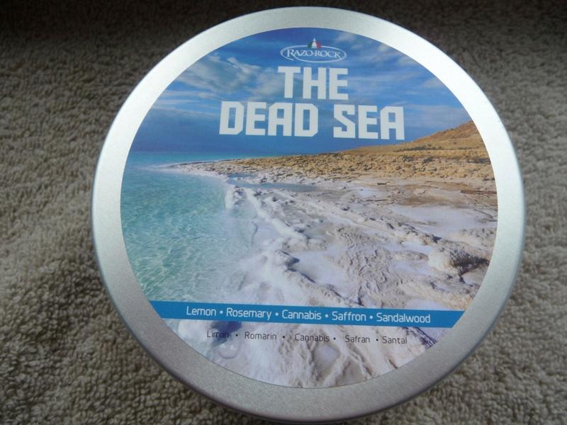 """Savon de rasage """"The Dead Sea"""" Razorock  Razoro12"""