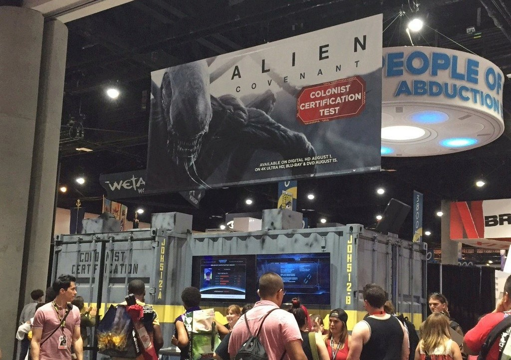 AMD Campaigns & IN UTERO VR for Alien: Covenant Sdcc310