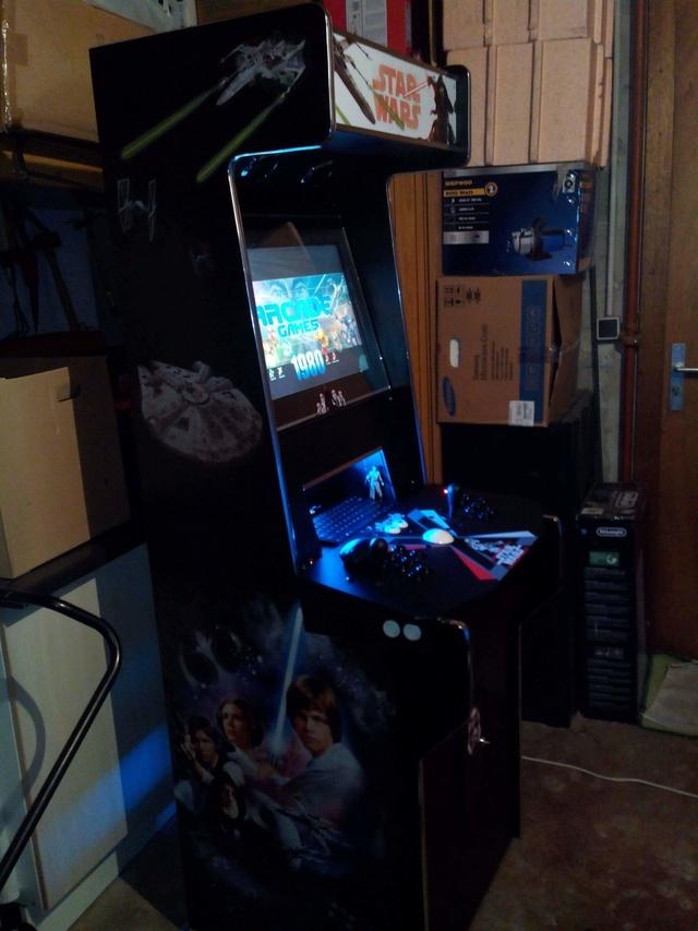 [WIP] 50% X-Arcade hack / Raspberry pi / borne arcade 2 en 1 one piece Img_2011