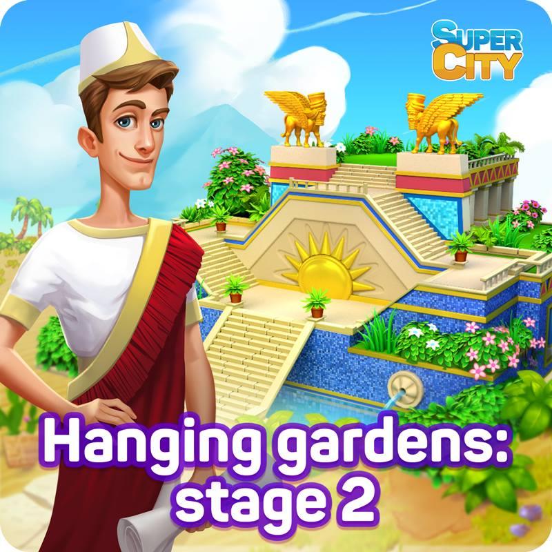 Amélioration des Jardins Suspendus: Étape 2 20525810