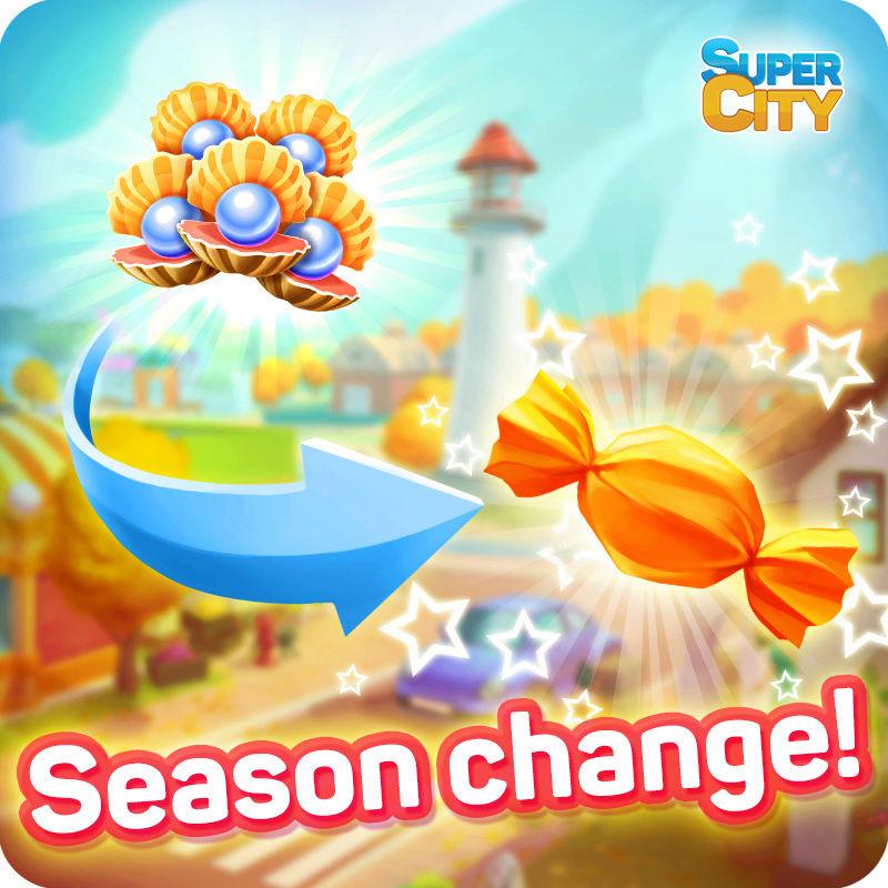 c'est l'heure d'automne à Supercity ! 21314510