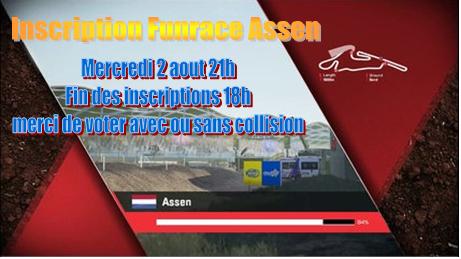 Inscription Funrace Assen mercredi 02 Aout 21h Inscri10