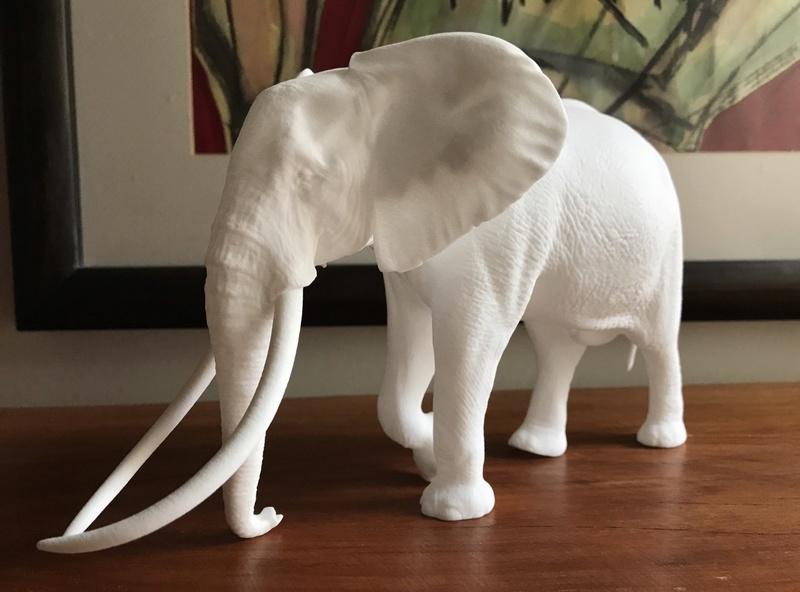 Large Bull African elephant replica Img_0110
