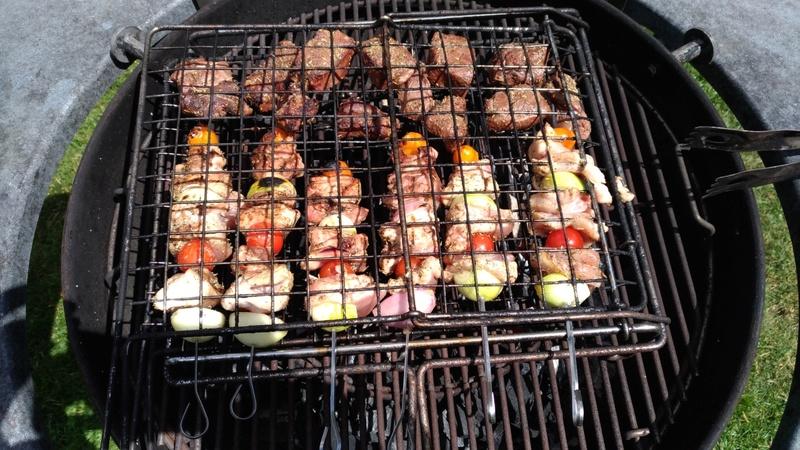 Chevreuil au barbecue, très simple et savoureux  - Page 2 P_201734