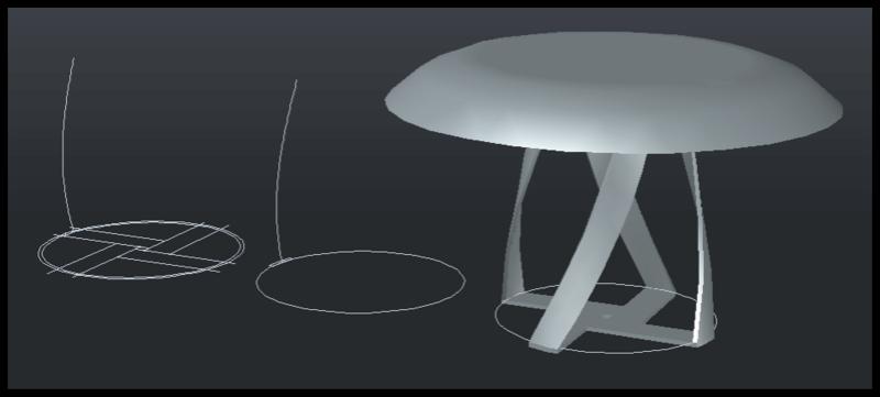 [討論]AutoCAD 3D 建模方式(螺旋線及掃略) 019510