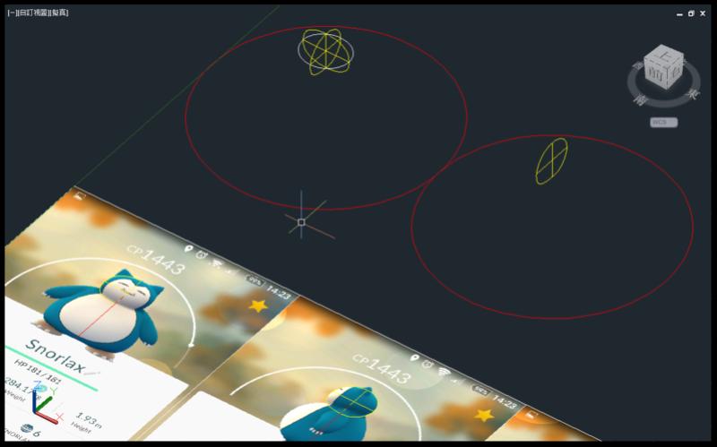 [教學]AutoCAD 3D 卡比獸建模步驟分享 0411