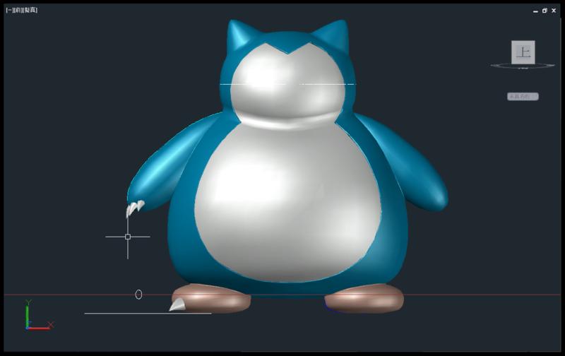 [教學]AutoCAD 3D 卡比獸建模步驟分享 1411