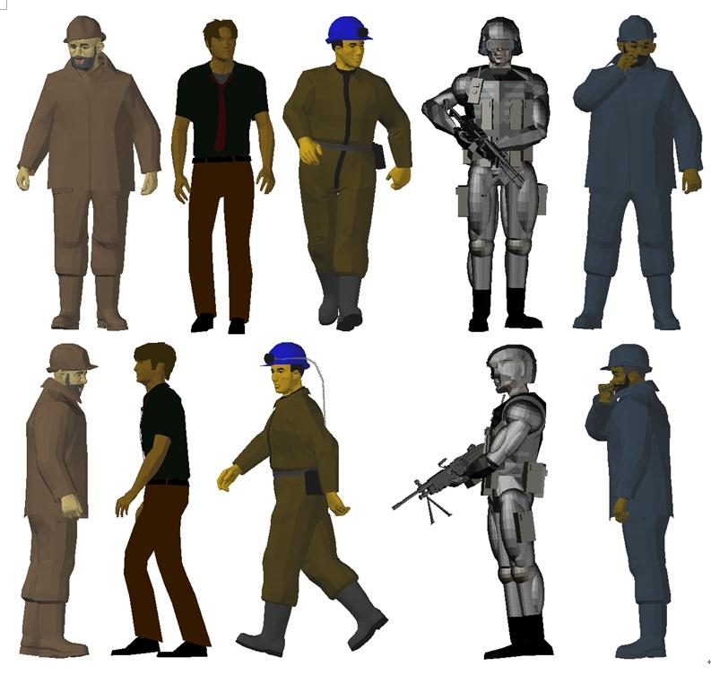 [下載]AutoCAD 3D模型-人物...更新 - 頁 3 15039711