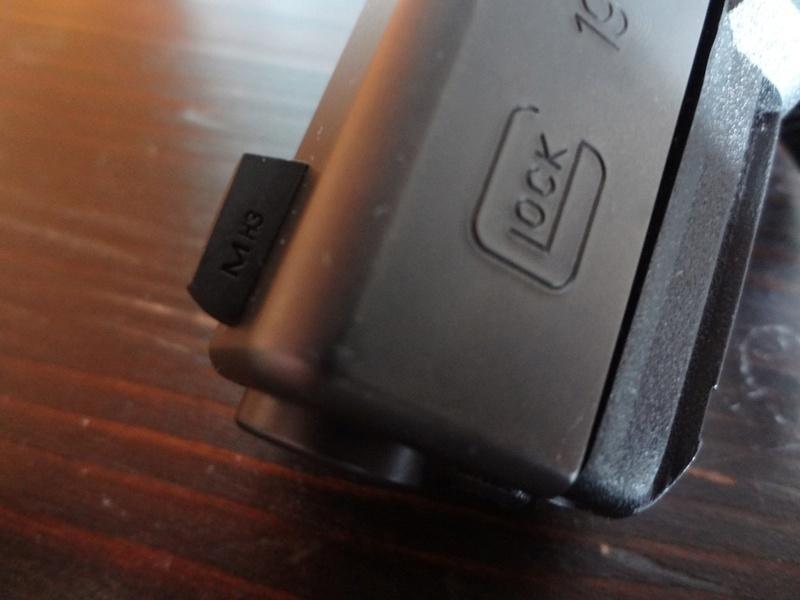 RETEX visée Tritium Meprolight pour Glock 9 Para Mep410