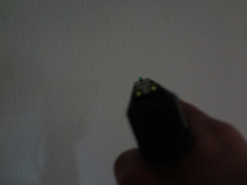 RETEX visée Tritium Meprolight pour Glock 9 Para Mep510
