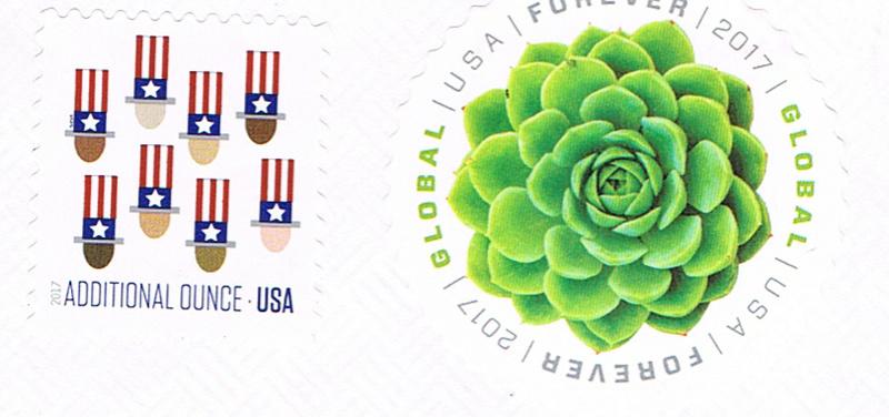 USA Forever - runde Briefmarke A111