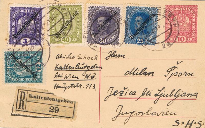 Inflation in Österreich - Belege - 1918 bis 1925 - Seite 9 A112